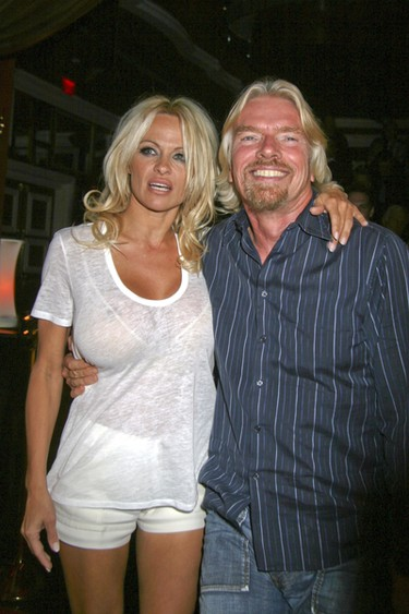 reading Body Language Pamela Anderson