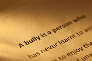 Aggressive behavior looks like bullying
