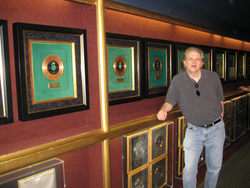 Kevin Hogan at Graceland's Award Room