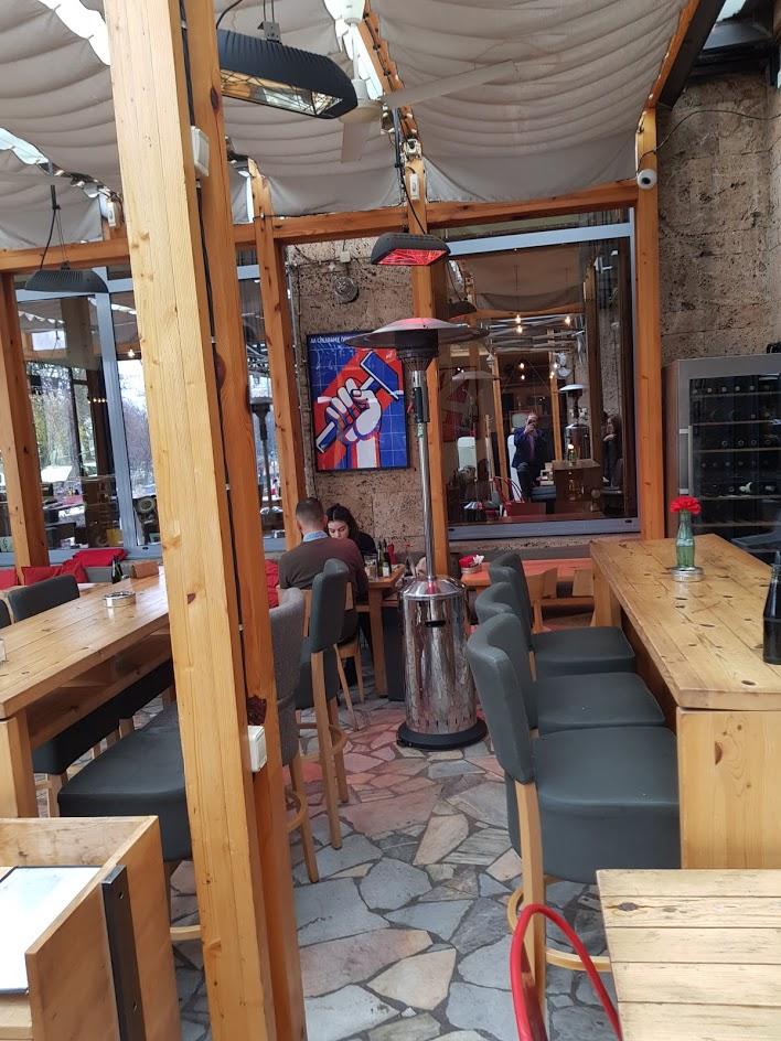 pseudocommunist restaurant in Bulgaria