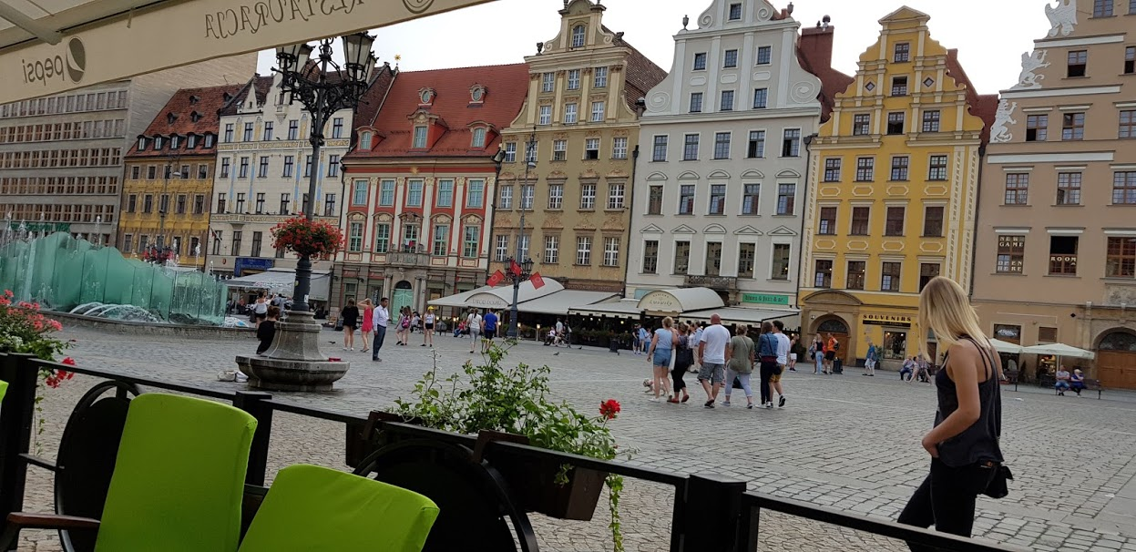 Wroclaw Town Square