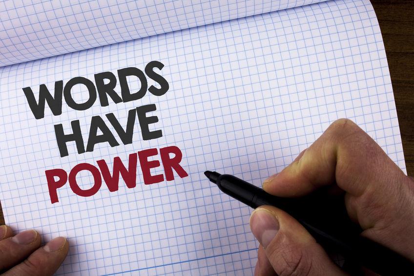 exact words matter