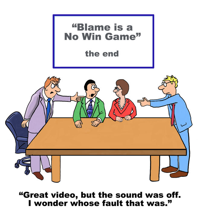 psychology of blaming